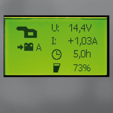 Batteriet oppdateres