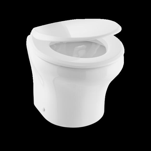 Elektrisk toalett DOMETIC MasterFlush MF 8112 kverntoalett lav profil 12V 9108553021