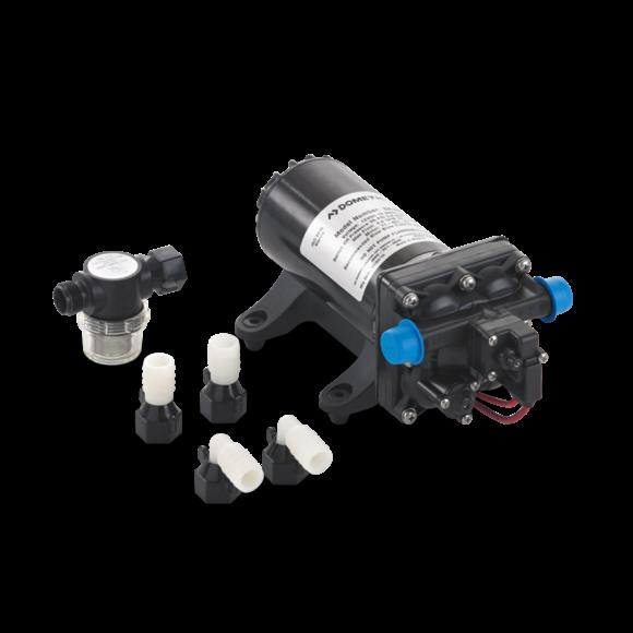 UkjentNivå3 DOMETIC MasterFlush MF 8165 med ekstern pumpe lav profil 12V 427