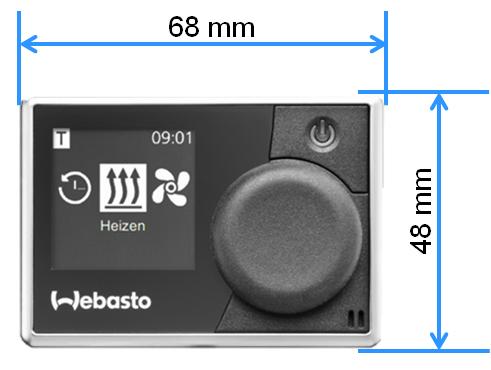 Tilbehør WEBASTO Multipanel for Dieselvarmer luft AirTop 2000 STC Evo 40 Evo55 1041855