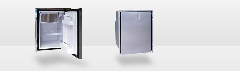 Kjøleskap ISOTHERM INOX CR42 Clean Touch 42L Høyrehengslet rustfri front 1044259