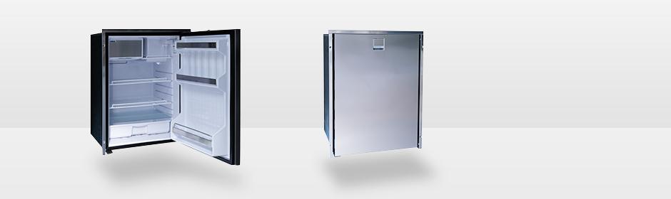 Kjøleskap ISOTHERM INOX CR85 Clean Touch 85L Høyrehengslet rustfri front 1044262
