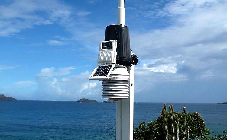 Komplett sett trådløs DAVIS Vantage Pro2 Værstasjon 2346100