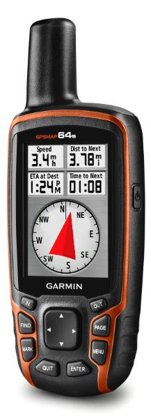 GPSMAP 64s geocache