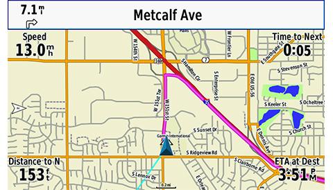 Bærbar GPS GARMIN GPSMAP 276Cx oppladbar kartplotter 5 skjerm 0100160701