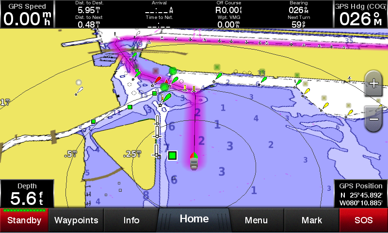 Kartplotter GARMIN GPSmap 922xs KartplotterEkkolodd 9 Multitouch 1024x600 px usvinger 0100173902
