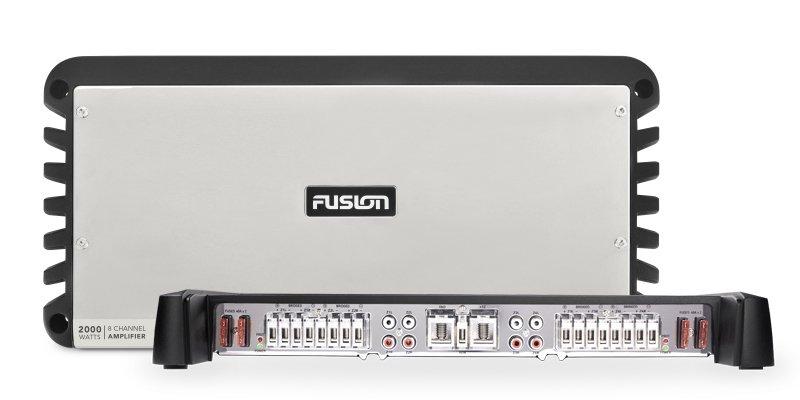 Forsterker FUSION SGDA12250 monoblokk 12VDC marin 2250W 0100197000