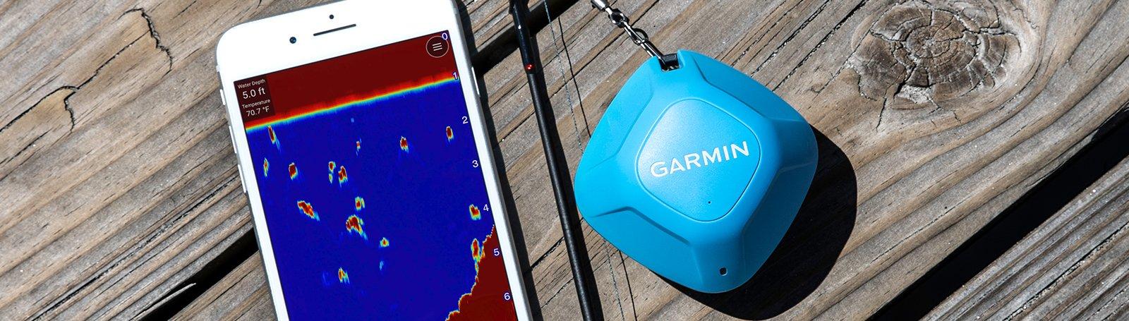 Ekkolodd GARMIN STRIKER Cast GPS Trådløst EkkoloddGPS for Smarttelefon 0100224602