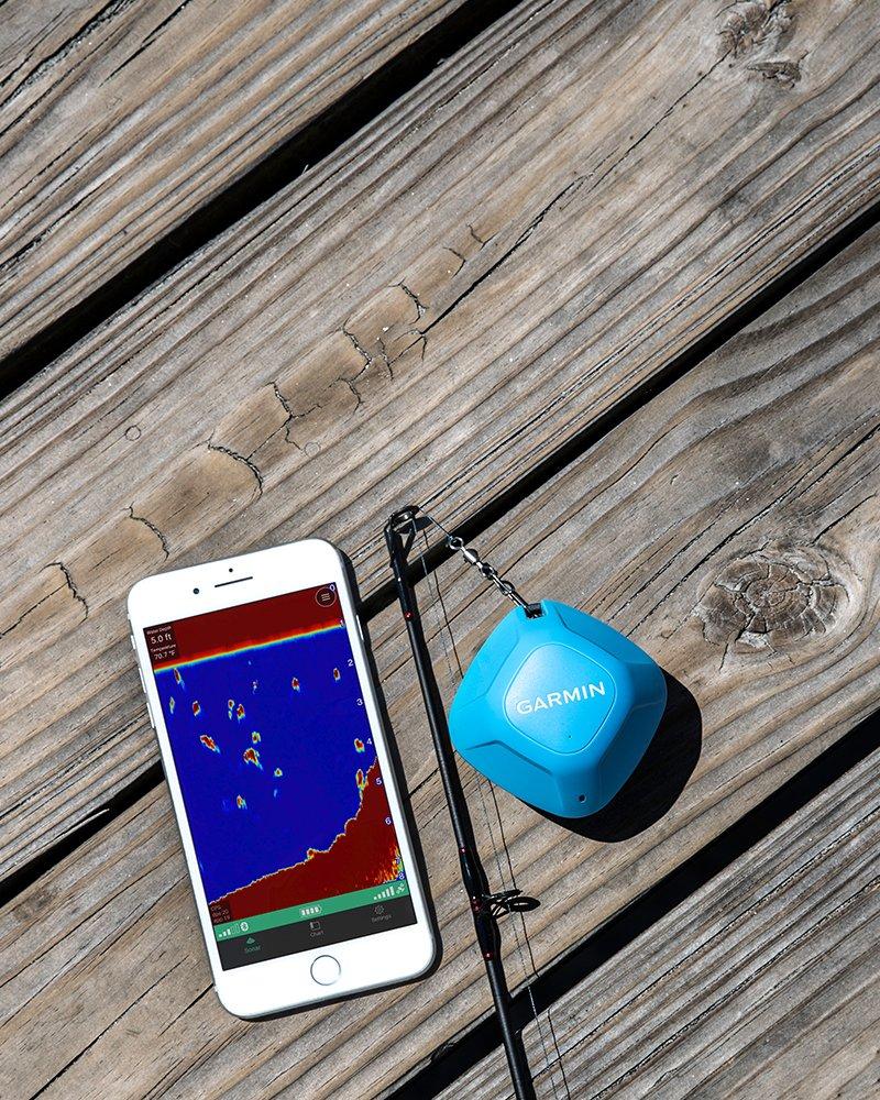 Kartplotter GARMIN STRIKER Cast GPS Trådløst EkkoloddGPS for Smarttelefon 0100224602