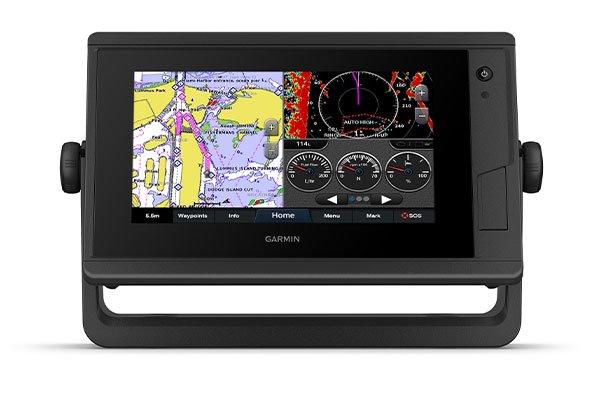 Kartplotter GARMIN GPSMAP 722 Plus Ikkeekkolodd kun 0100232000