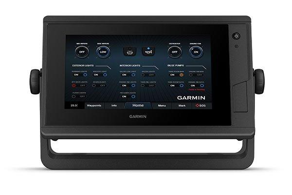 Kartplotter GARMIN GPSMAP 722xs Plus ClearVü og tradisjonelt CHIRP 0100232002