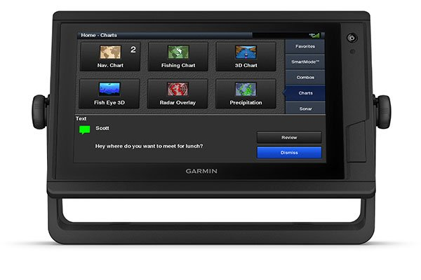 Marine GARMIN GPSMAP 922xs Pluspakke Med GMR 18 HDradom 194