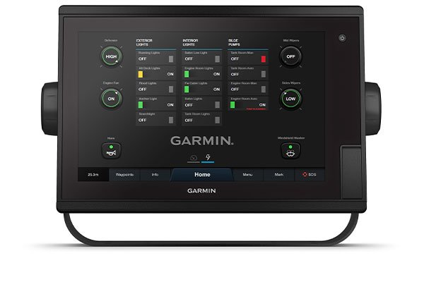 Kartplotter GARMIN GPSMAP 1222 Plus ikkeekkolodd kun 0100232200