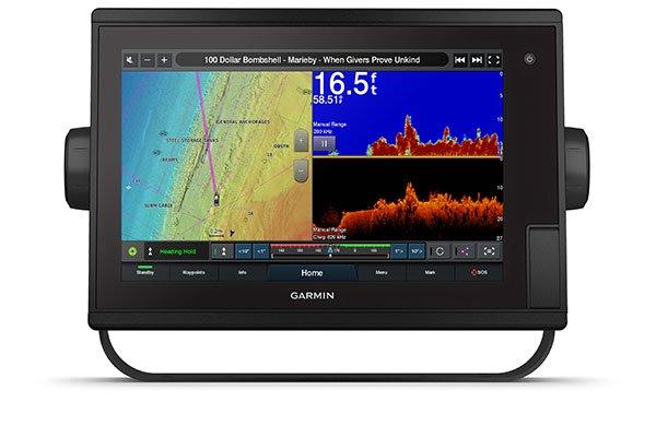Marine GARMIN GPSMAP 1222xsv Plus ClearVü SideVü og tradisjonelt CHIRP 194