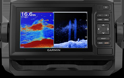 Kartplotter GARMIN ECHOMAP UHD 62cv 6 ClearVü inkl GT24TMsvinger 0100232901