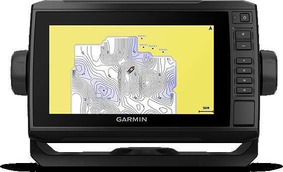 Marine GARMIN ECHOMAP UHD 72svKartplotter 7 ClearVü og SideVü inkl GT54TM 194