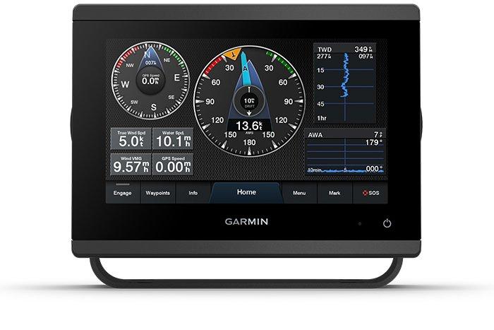 Kartplotter GARMIN GPSMAP 723xsv mekko 7 XVGA Touch MFD usvinger 0100236502