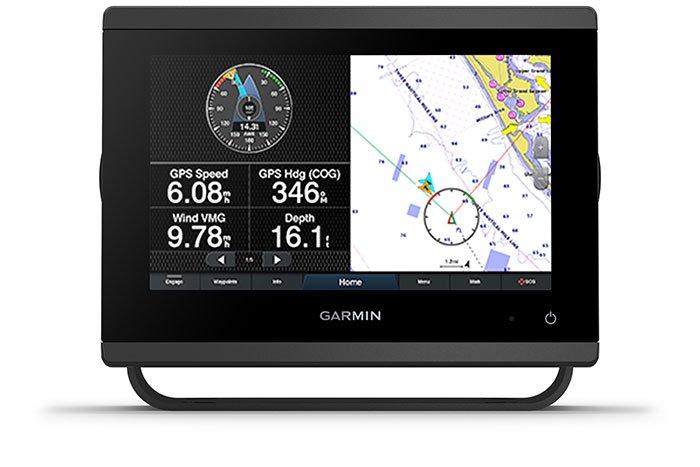Marine GARMIN GPSMAP 923 Kartplotter 9 XVGA Touch MFD 194