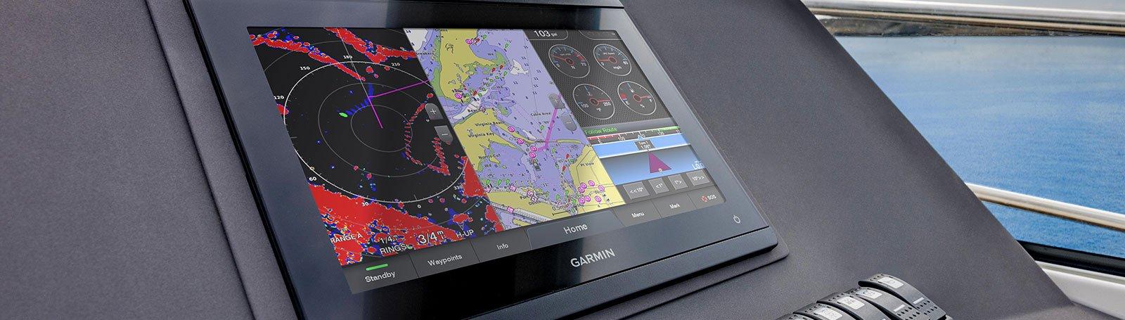 Marine GARMIN GPSMAP 1223 Kartplotter 12 IPS Touch MFD 194