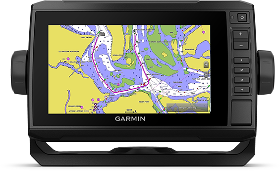 Kartplotter GARMIN ECHOMAP UHD 72sv 7 SideVü inkl GT56UHDTMsvinger 0100251801