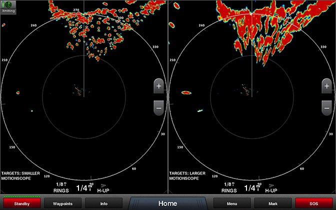Marine GARMIN GMR™ Fantom 126 åpen radar 96NM 125° Strålebredd 120W Bredbånd 194