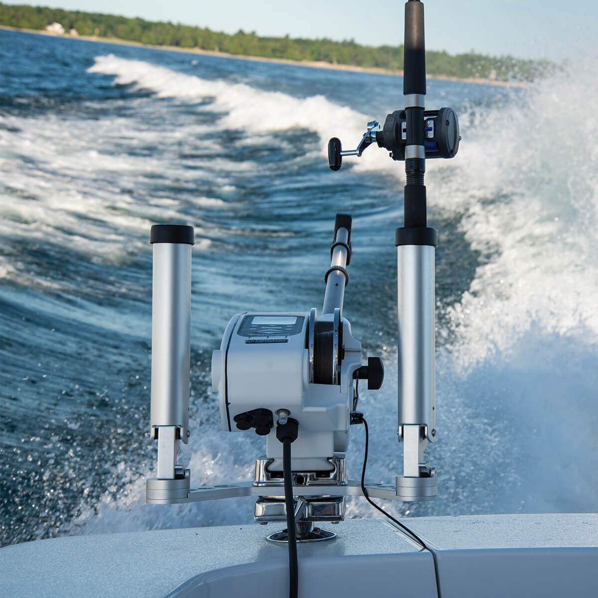 Dypriggere Tilbehør CANNON dobbel Justerbar 360° stangholder Dual Axis 6 trinn låsemulighetdyprigger 117995