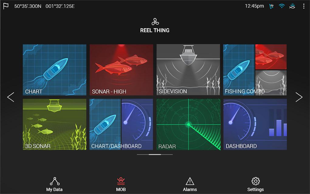 Kartplotter RAYMARINE Axiom 7 DV Ekkolod DownVision CPTS Hekksvinger E7036401
