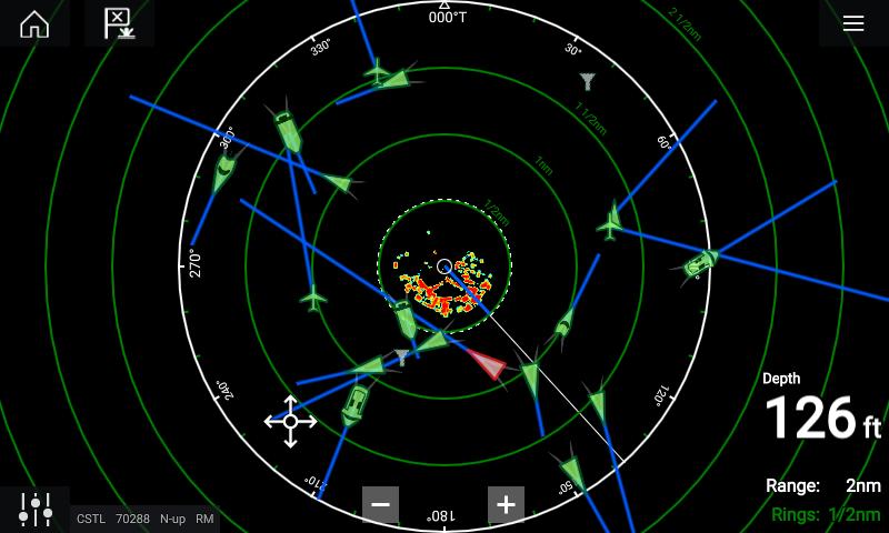 VHF RAYMARINE AIS 700 Sender Mottaker Klasse B mSplitter E70476