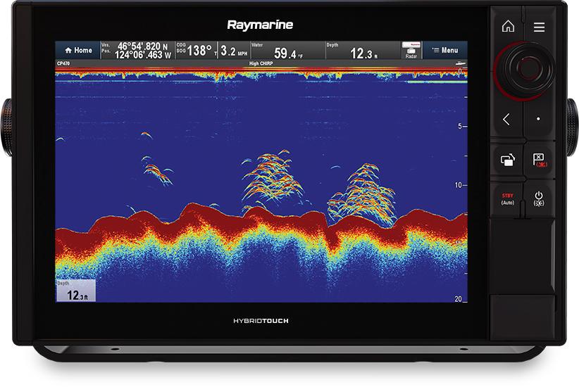 Kartplotter RAYMARINE AXIOM 12 ProS HybridTouch 3048mm 268